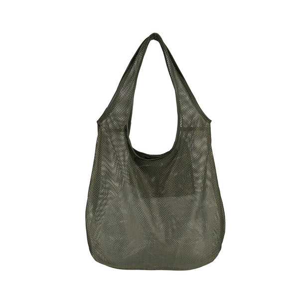 Micha Mesh Shoulder Bag - Olive