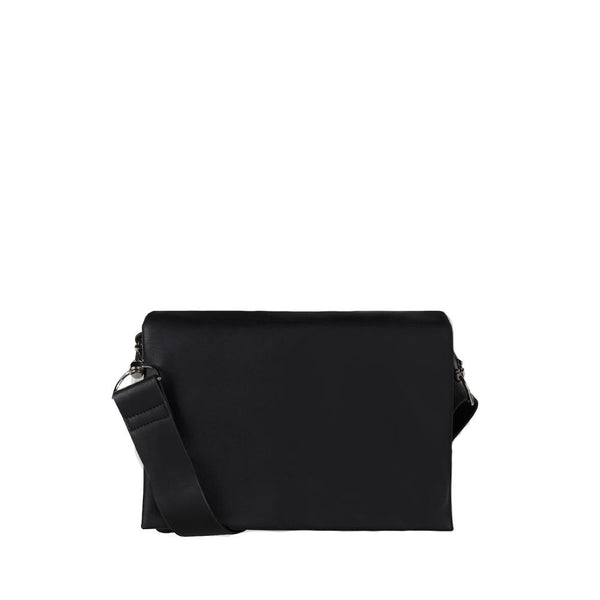 Moon Square Crossbody Bag - Black