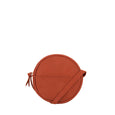 Mila Circle Crossbody Bag - Rust