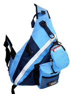Single Strap Sling Travel College School Laptop Backpack Daypack