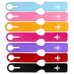 Multicolor Plastic Luggage Tags Luggage Checked