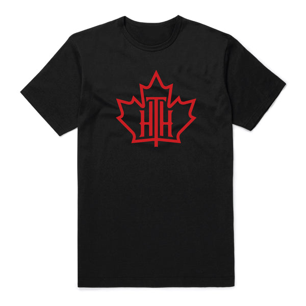 HTH Black and Red Logo T