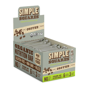 Organic Coffee Bean Nutrition Bar (Box of 12)