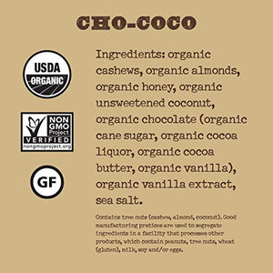 Organic Chocolate Chip Coconut (Cho-Coco) Nutrition Bar (Box of 12)