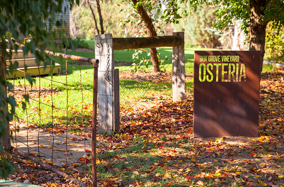 The gateway to The Osteria