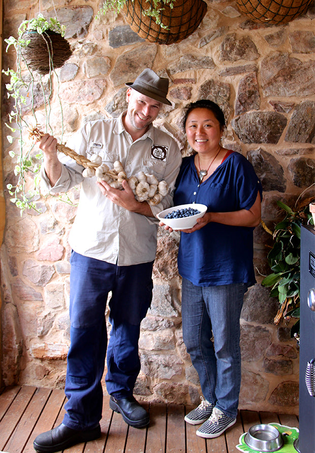 Cynthia Lim and Nick Bray from Blue Tongue Berries