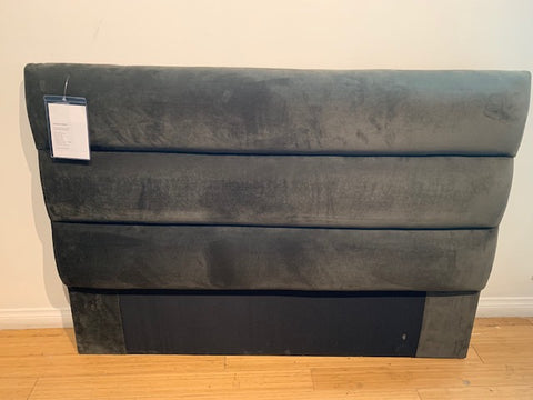 JAMES (FULL HB) - Headboard Bella/Pewter (The Sofa Company)