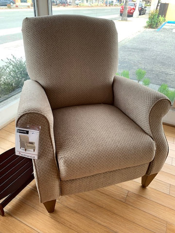 Charlotte High Leg Lounger - Taupe (La-Z-Boy)