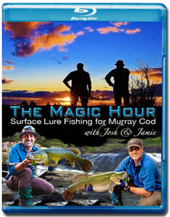 The Magic Hour Blu-Ray ~ Surface Lure Fishing for Murray Cod (76 MINS RUNNING TIME)