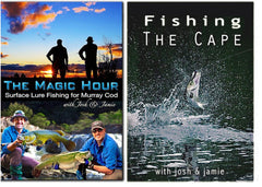 Josh and Jamie Fishing Murray Cod and Barrumundi DVD Bundle