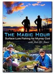 The Magic Hour DVD ~ Surface Lure Fishing for Murray Cod (76 MINS RUNNING TIME)