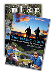 Josh and Jamie Fishing Murray Cod DVD Bundle