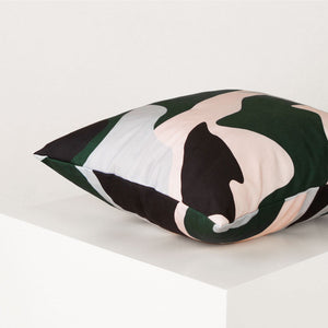 abstract-print-cushion-forest-green
