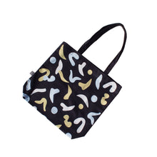 Load image into Gallery viewer, matisse-cut-out-shapes-tote-bag-black