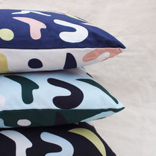Load image into Gallery viewer, matisse-colourblock-abstract-print-cushions