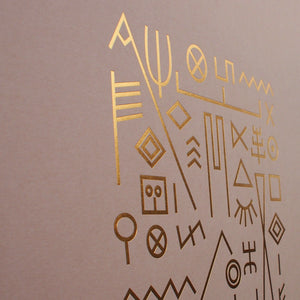 typographic-foil-print-poster-gold