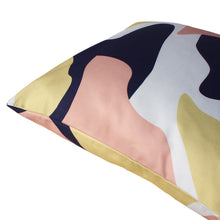 Load image into Gallery viewer, Abstract Pattern Cushion - Navy and Pink