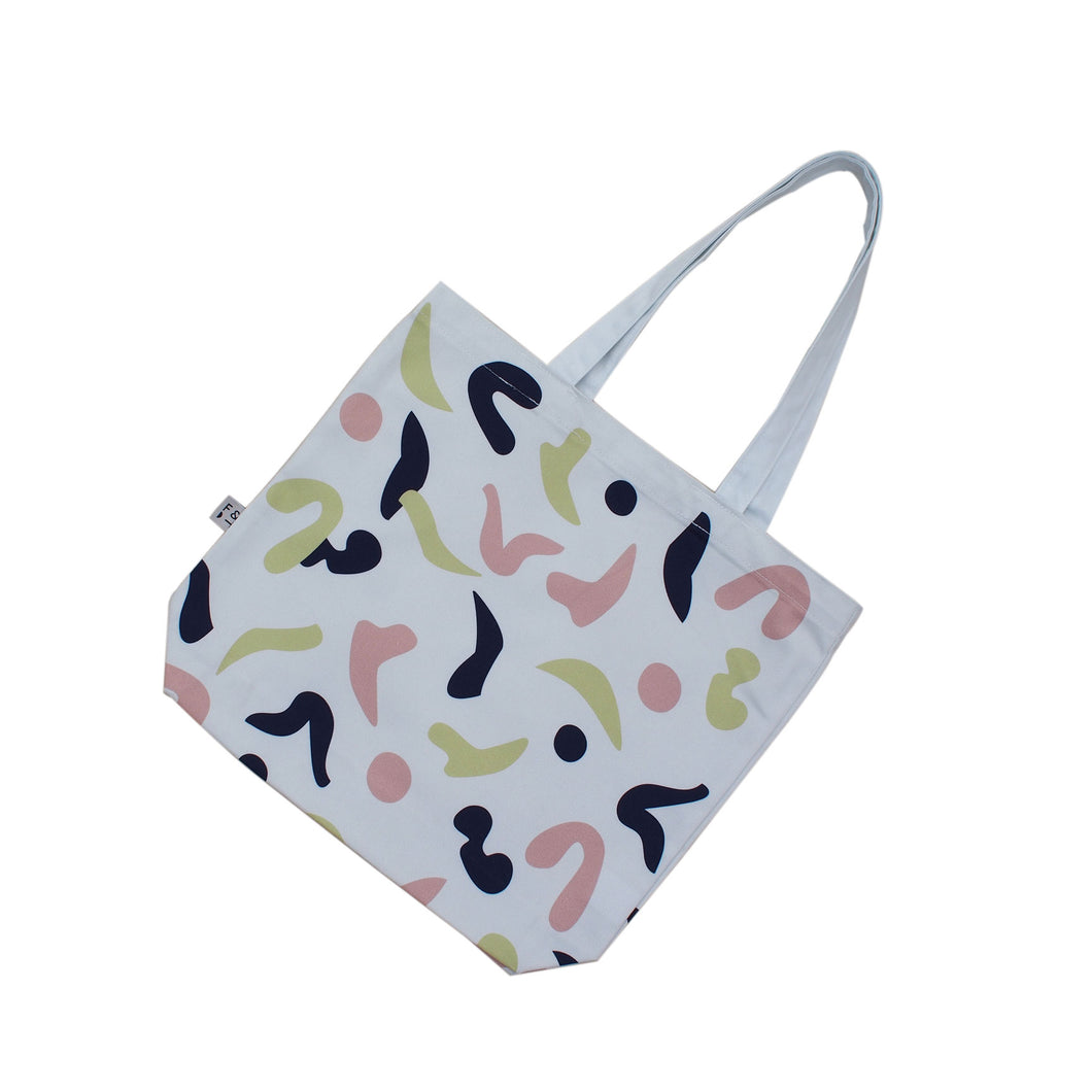 Dance Print Tote Bag - Sand