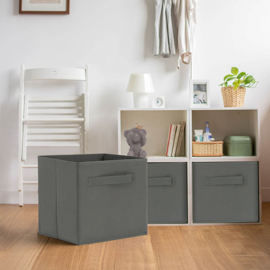 Foldable Storage Bin Cube with Drawer for Clothes Toys