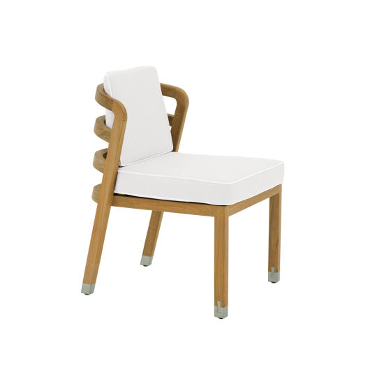 LC700  Dining Side Chair With Seat And Back Cushions