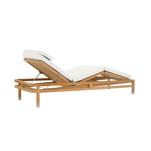 LC711  Adjustable Chaise With Cushion