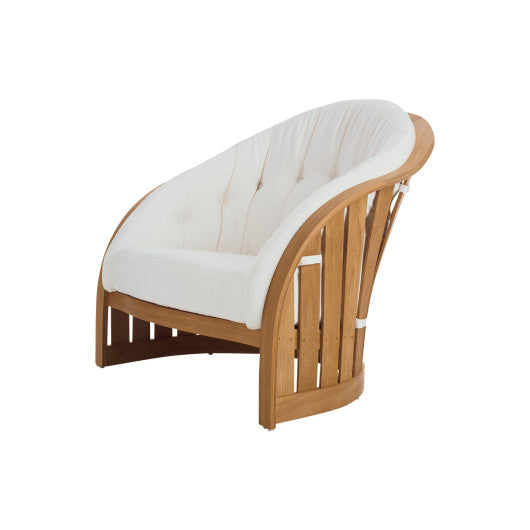 PK241  Lounge Chair With Seat And Back Cushions