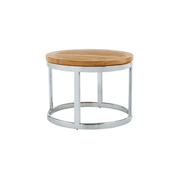 PK255  Occasional Table With Stainless Steel Base