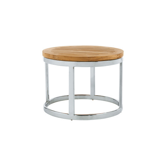 PK255  Occasional Table With Stainless Steel Base (3D+AR)
