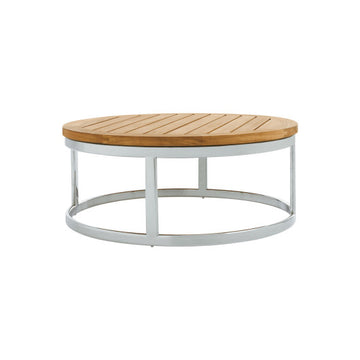 PK256  Coffee Table With Stainless Steel Base