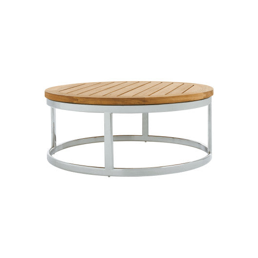 PK256  Coffee Table With Stainless Steel Base (3D+AR)