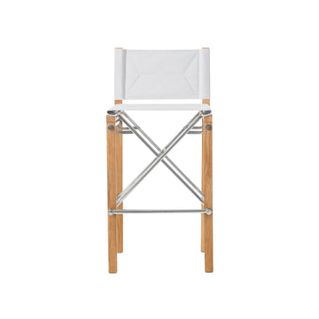 SD359 Sundeck Folding Director's Armless Bar Chair
