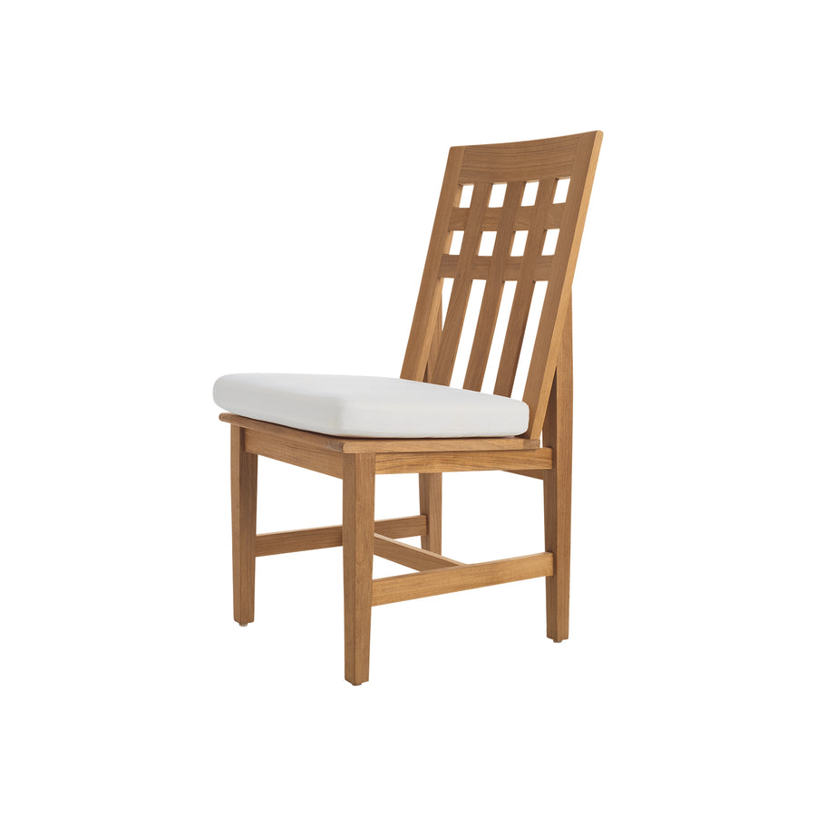 TR200 Trestle Dining Side Chair with Seat Cushion