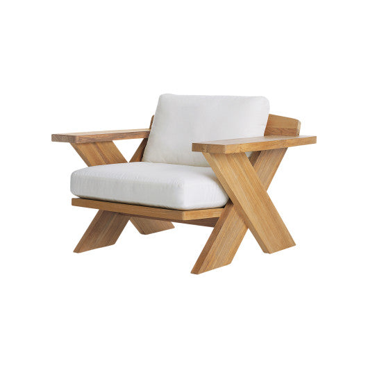 X500  Lounge Chair With Seat And Back Cushions (3D+AR)