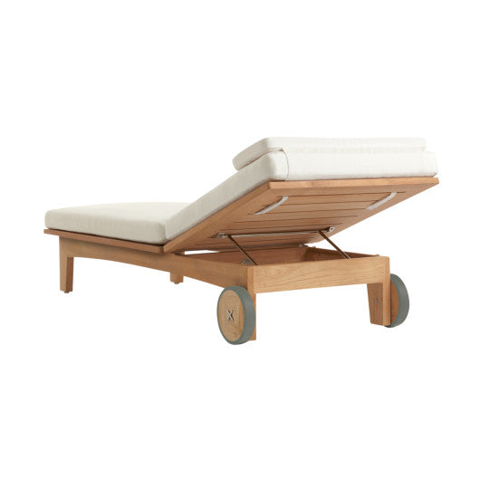 X504  Adjustable Chaise With Cushion (3D+AR)