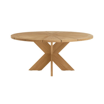 X514  Round Petal Dining Table
