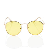 Cute Yellow Tinted Sunglasses