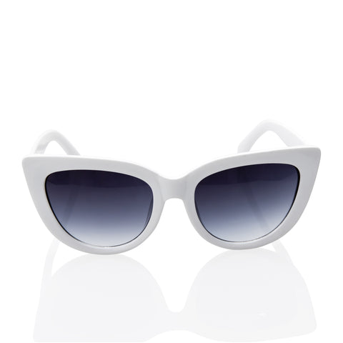 Vintage Inspired Fashion Mod Chic High Pointed Cat Eye Sunglasses