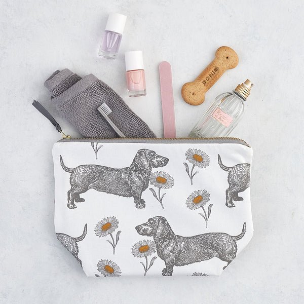 Dog & Daisy Large Cosmetic Bag