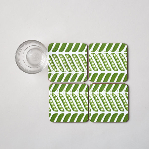 Pea Pod Coaster Set of Four