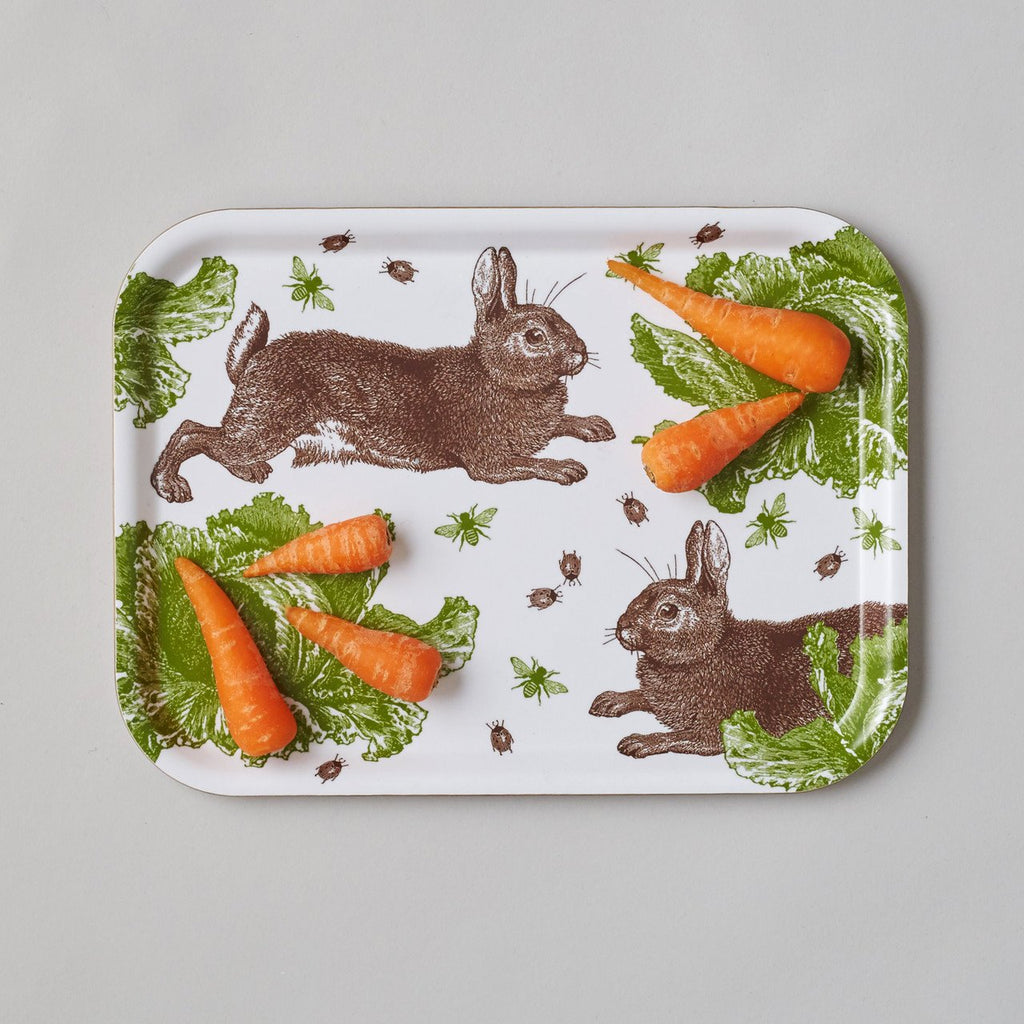 Classic Rabbit & Cabbage Small Tray