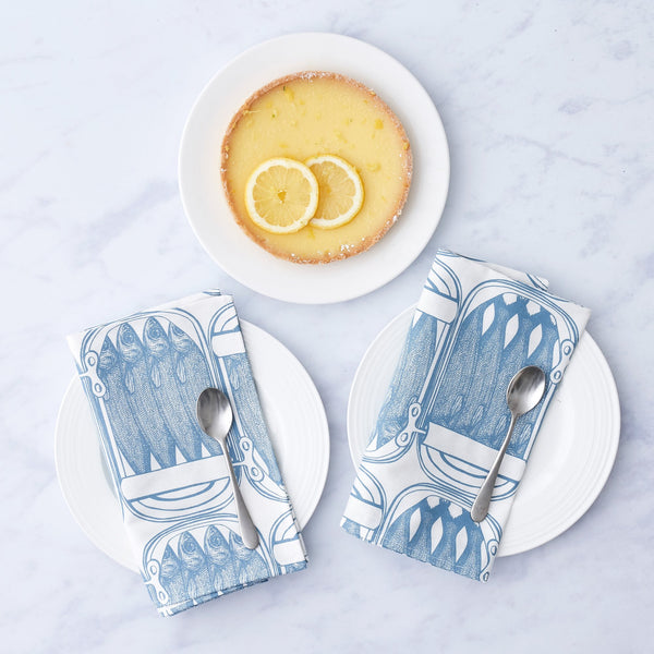 Sardine Napkin Set of Four
