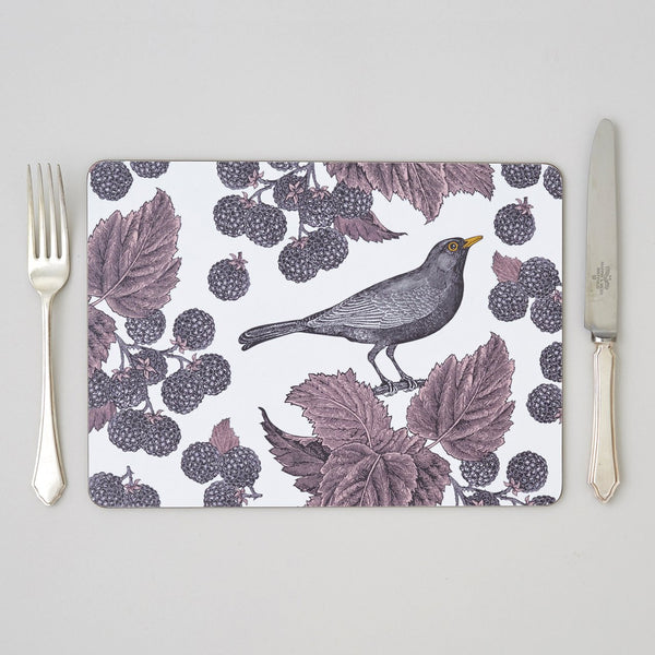 Blackbird & Bramble Placemat Set of Four