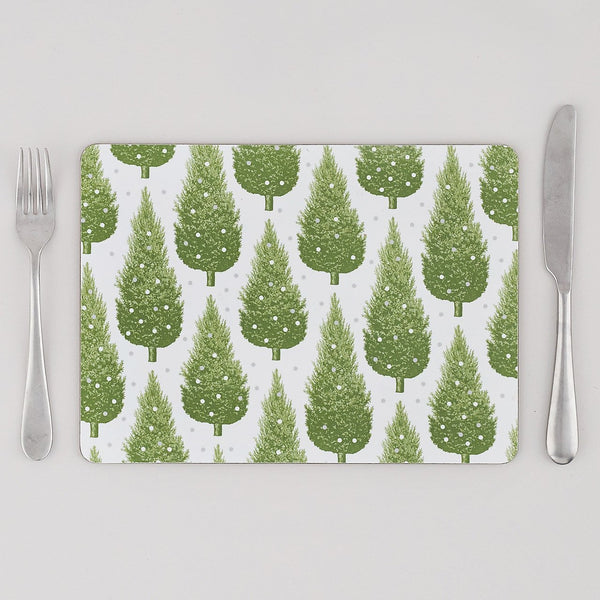 Christmas Tree Placemat Set of Four