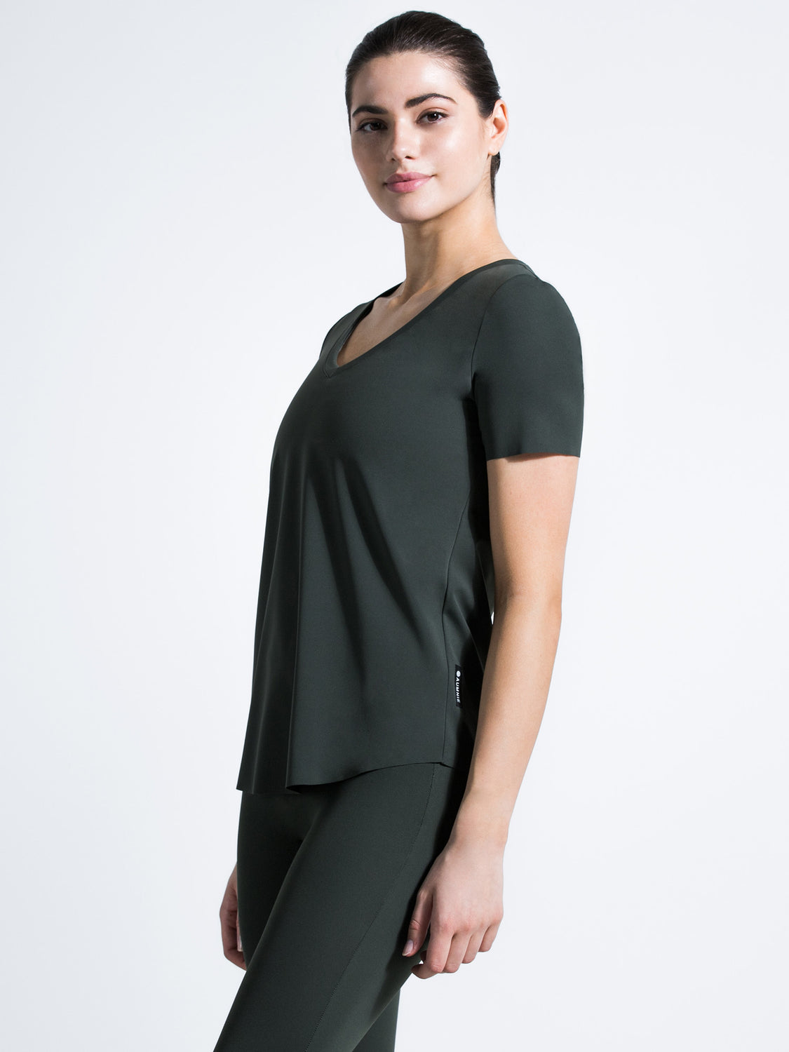 RELAXED NUDE TEE, DEEP FOREST