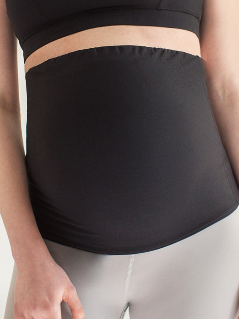 ALL PURPOSE BELLY SUPPORT BAND, BLACK