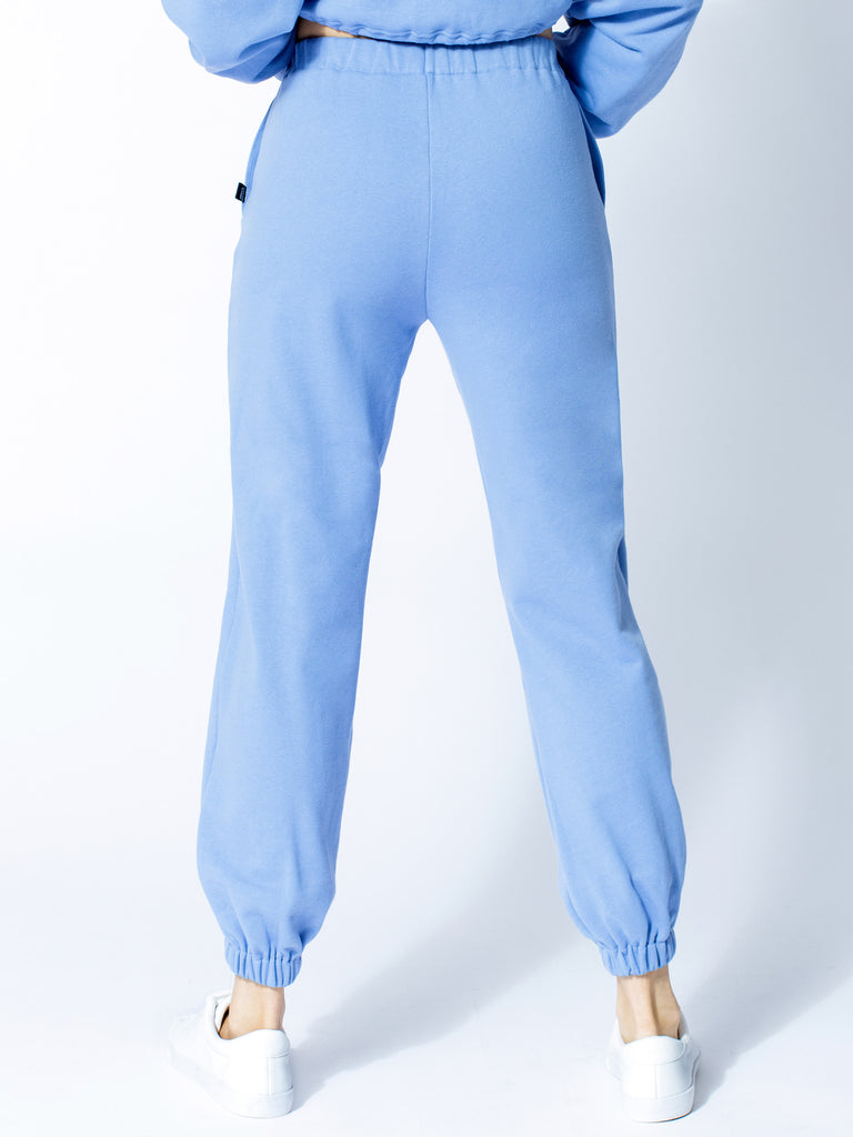COTTON SWEATPANTS, HELIO