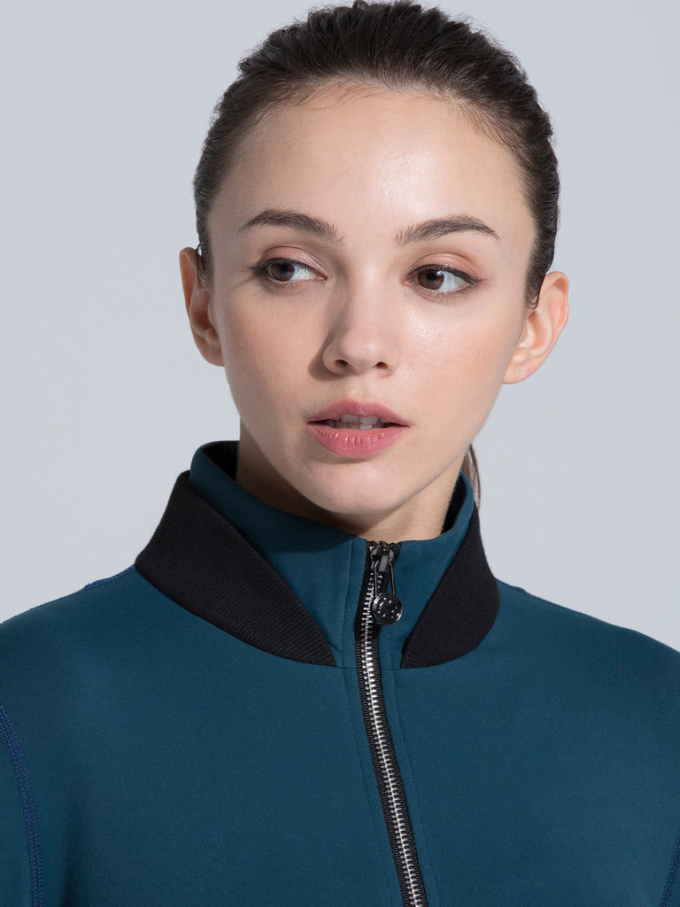 FIT JACKET 3.0, LAKE/BLACK