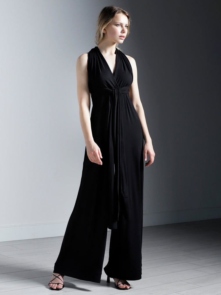 INFINITY JUMPSUIT, BLACK