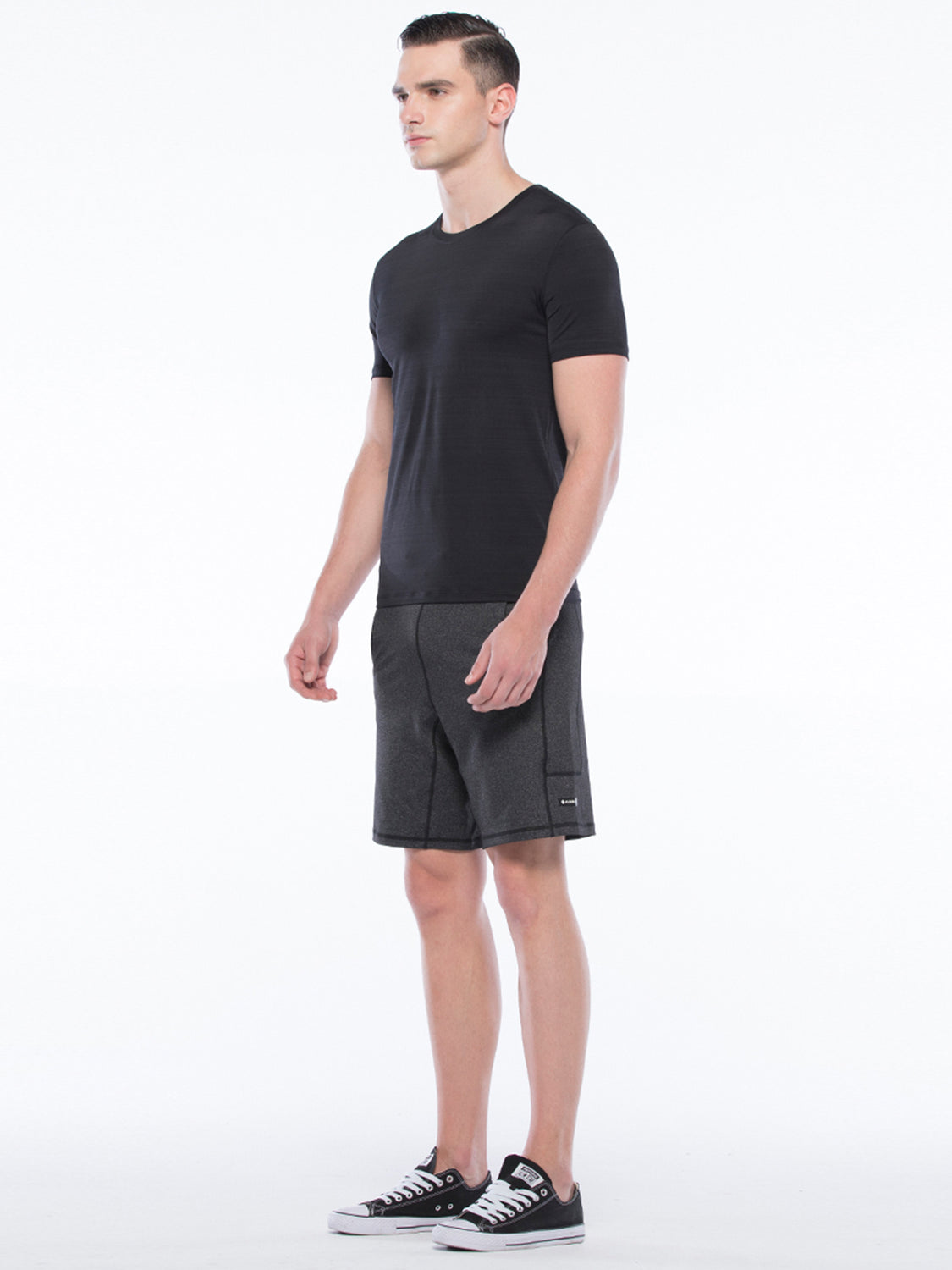 ATHLETE TEE, BLACK WFX