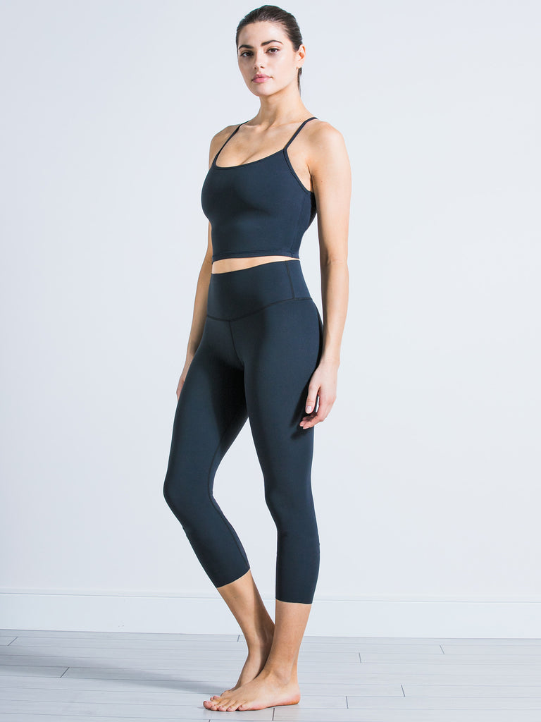 NUDE SHAPE CROPS, MIDNIGHT GREY